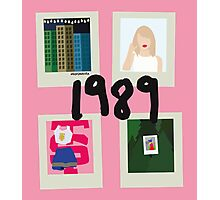 1989 song vectors Photographic Print
