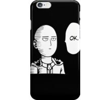 One Punch Man iPhone Case/Skin