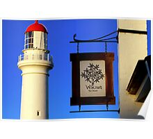 lighthouse tea rooms Poster