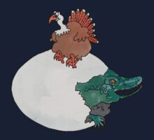 Turkey or the Egg One Piece - Long Sleeve