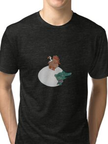 Turkey or the Egg Tri-blend T-Shirt