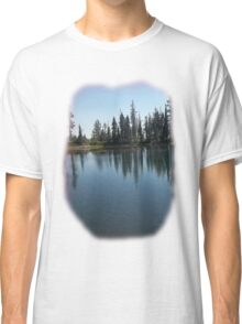 A lake near Lassen with nice reflections Tee shirt Classic T-Shirt