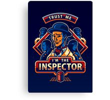 Trust The Inspector - POSTER Canvas Print