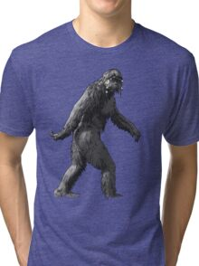 hippie bigfoot Tri-blend T-Shirt