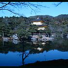 Kinkakuji Part Two - The Tree Silhouette by IanPeriwinkle