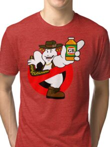 GB: Australia No-Ghost (Ghost Bitters) Tri-blend T-Shirt