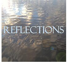 REFLECTIONS - Digital Oil Painting Photographic Print