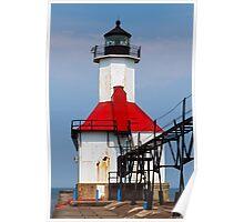 St. Joseph Lighthouse, Lake Michigan Poster