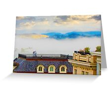 4 PM Rolling in Greeting Card