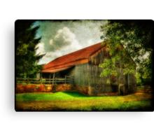 A Farm-Picture Canvas Print