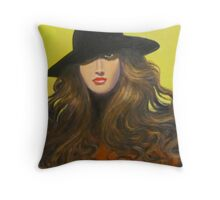 KEEPING A LOW PROFILE Throw Pillow