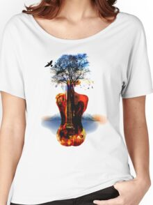 MUSIC IN SOUL Women's Relaxed Fit T-Shirt