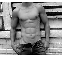 male abs  Photographic Print