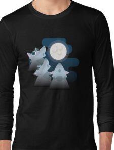 Three Wolf Moon Moon Long Sleeve T-Shirt
