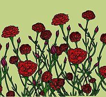 Carnation Tarnation by MdeBij