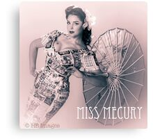 Fifties Glamour  Canvas Print