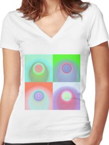 Sampling Cicles Women's Fitted V-Neck T-Shirt