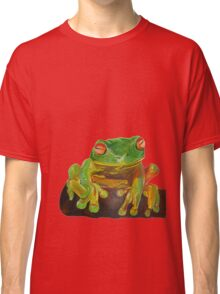 Cute Red Eyed Tree Frog Classic T-Shirt