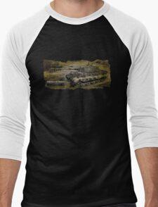 Tiger 2 Tank Men's Baseball ¾ T-Shirt