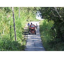 Tractor. Photographic Print