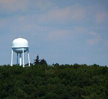 Water Tower by Nevermind the Camera Photography