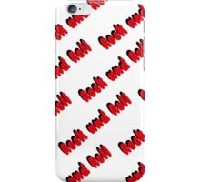 Rock and Roll2 iPhone Case/Skin