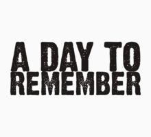 A Day To Remember - Black by Kingofgraphics
