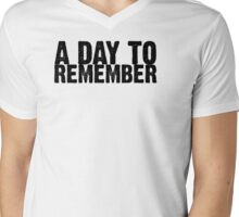 A Day To Remember - Black Mens V-Neck T-Shirt