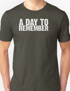 A Day To Remember - White T-Shirt