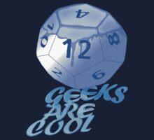 geeks are cool  Kids Tee