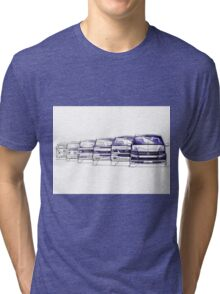 VW Bus Evolution Tri-blend T-Shirt