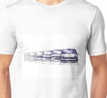VW Bus Evolution Unisex T-Shirt