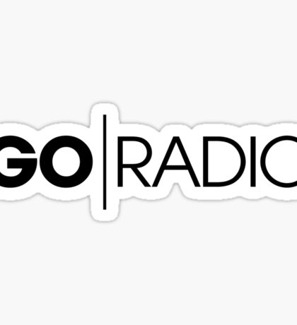 Go Radio Sticker