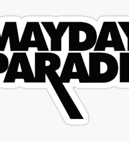 Mayday Parade Sticker