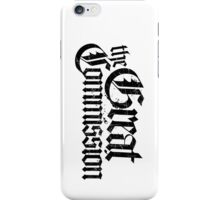 The Great Commision iPhone Case/Skin