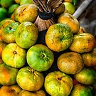 Citrus stack by Naomi Brooks