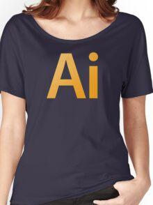 Adobe Illustrator Women's Relaxed Fit T-Shirt