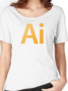 Adobe Illustrator Women's Relaxed Fit T-Shirt
