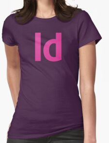 Adobe In Design Womens Fitted T-Shirt
