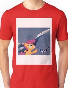 Scootalo Airforce Unisex T-Shirt