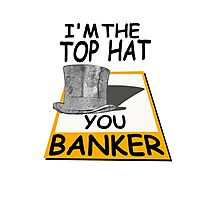 i'm the top hat Photographic Print