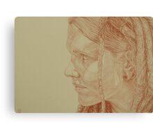 Tam Sketch Canvas Print