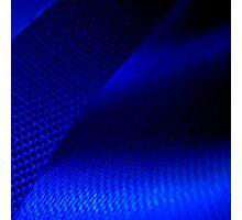 Blue ribbon Photographic Print