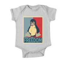 Tux Freedom for Linux Users One Piece - Short Sleeve