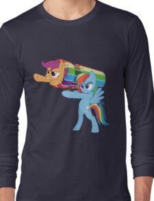 Rainbow Cannon Long Sleeve T-Shirt