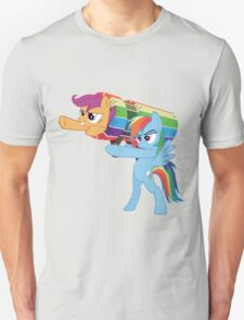 Rainbow Cannon Unisex T-Shirt