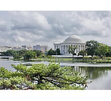 The Thomas Jefferson Memorial Photographic Print