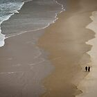 Quiet Beach Walk by John Quixley
