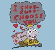 i choo choo choose you . simpsons by timmehtees