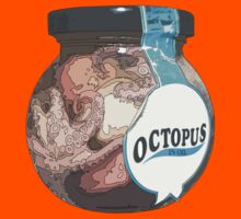 octopus in oil Kids Clothes